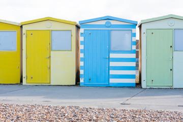 Cabanes sur la plage Brighton