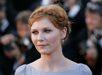 U.S. actress Kirsten Dunst arrives for [U.S. director Sofia Coppola's] in competition film 'Marie An..