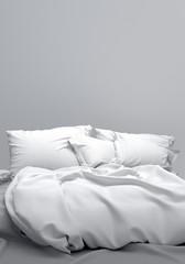 Bett Schlafzimmer Boxspringbett Doppelbett Bettwäsche