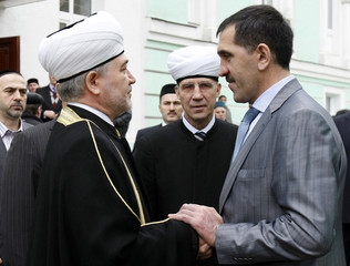 Ingushetia's President Yevkurov and Gainutdin, a leader of Russia's Muslim Council of Muftis, meet in Moscow