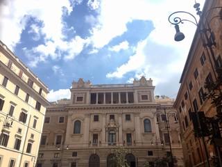 Roma, piazza della Pilotta - Pontificia Universita' Gregoriana