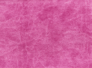 pink color artificial leather texture.