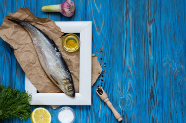 Ingredients for cooking fish