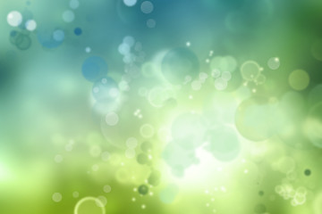 Abstract blue green blur background