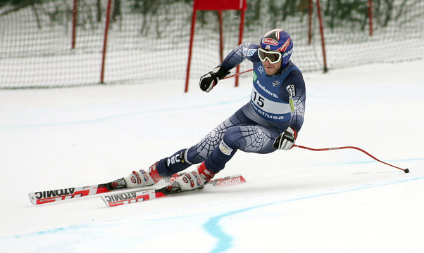 Miller of Bretton Woods competes in Men's Downhill at U.S. Alpine Championships in Carrabassett Valley