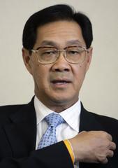 Thailand's Central Bank Governor Pridiyathorn Devakula speaks during an interview in Bangkok