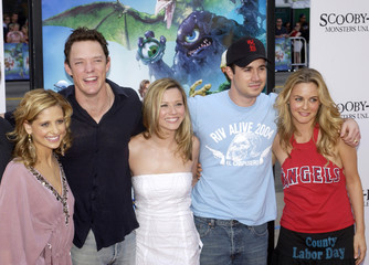 """""""SCOOBY-DOO 2 - MONSTERS UNLEASHED"""" CAST MEMBERS POSE AT LOS ANGELES PREMIERE."""