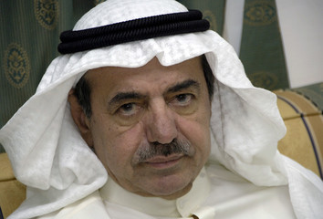 Kuwait businessman Nasser al-Kharafi sits in his brother, former speaker of Parliament [Jassim al-Kh..