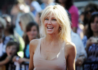 """Actress Heather Locklear arrives for the finale of Season 8 of """"American Idol"""" in Los Angeles"""