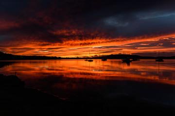 Sensational Sunrise Over The Bay