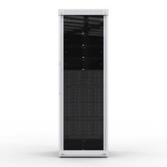 server computer on white background