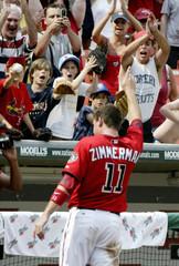 Washington Nationals' Zimmerman takes curtain call in Washington