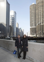 Danish Crown Prince Frederik and Princess Mary tour Chicago