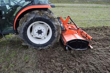 農業用トラクター