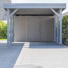 Holz Carport