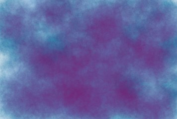 soft-color vintage pastel abstract watercolor grunge background with colored (shades of blue and dark purple color), illustration