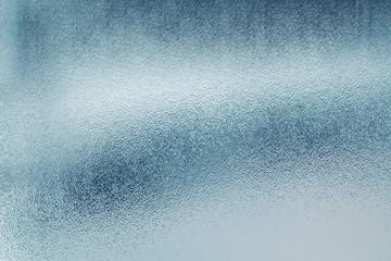 Blue glass textured background