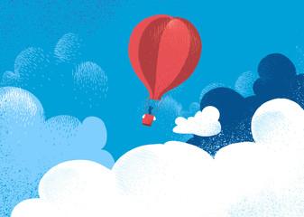 Viaggio in mongolfiera