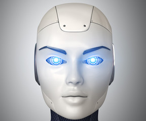 Robot's beauty