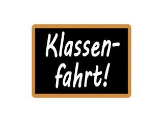 Klassenfahrt!