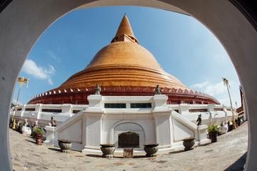 Phra Pathommachedi or Phra Pathom Chedi  is a stupa in Nakhon Pathom in Thailand.