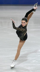 Italy's Marchei performs during the women's Free Programme of the European Figure Skating Championships in Warsaw