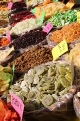Delicious dry fruits