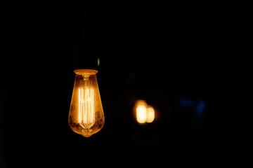 Light of bulb.