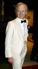 Tom Wolfe arrives at the Time magazine 100 most influential dinner.