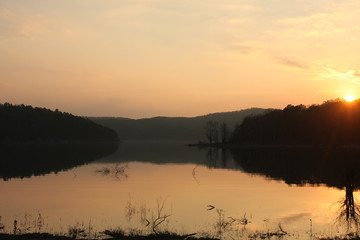 Sunset at Holley Creek