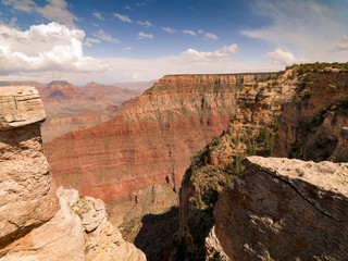 Poster de jardin Canyon Scenic view of Grand Canyon National Park, Arizona, USA