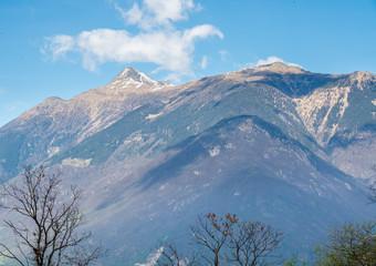Alps mountain view in Switzerland