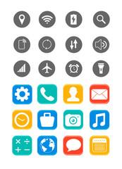 Phone app icons