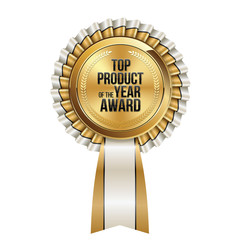 Top Product of Year. Award. Sale Badge.