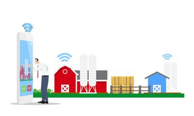 Smart Farm Concept