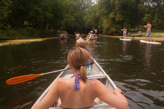 Canoeing the Lakes