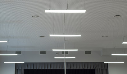 Electrical system.  Industrial lamps.