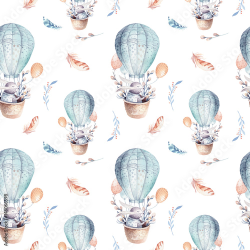 Quot Cute Baby Rabbit Animal Seamless Pattern Forest