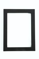 Photo frame on white background