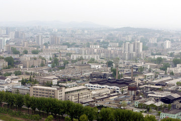 THE NORTH KOREA'S CAPITAL PYONGYANG IS SEEN IN THIS PICTURE.