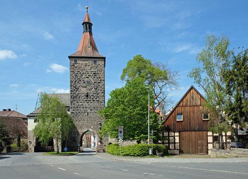 Nürnberger Tor in Neustadt an der Aisch