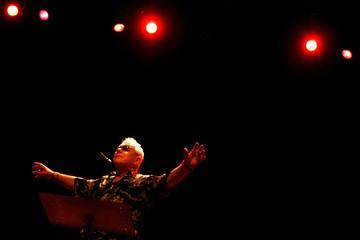 English singer Eric Burdon performs in Mallorca