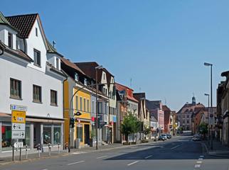 Geschäftshäuser in Neustadt an der Aisch