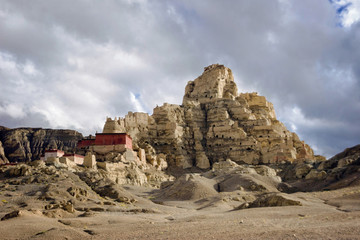 Tsaparang Ruins - ancient capital of the kingdom of Guge