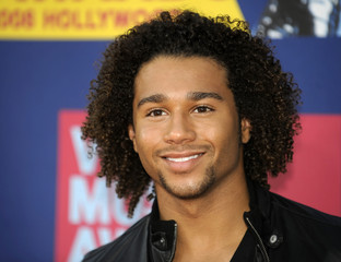 Actor Corbin Bleu arrives at the 2008 MTV Video Music Awards in Los Angeles