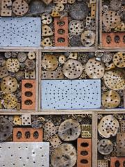 Man made bees nest