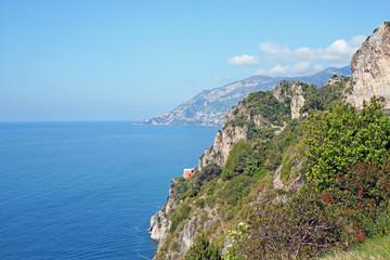 Picturesque Amalfi coast. Italy