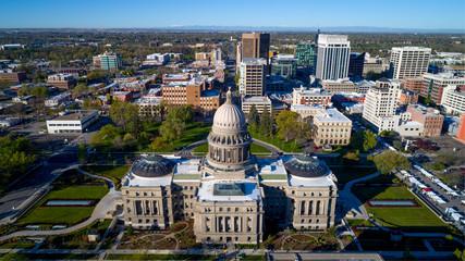 Idaho state capital and skyline of Boise