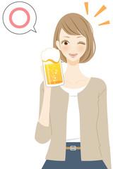 アルコール 人物 笑顔