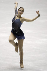 Wagner performs during the ladies short program of the Grand Prix of Figure Skating final in Tokyo